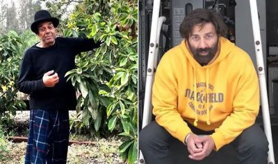 Dharmendra was clicking photo of Sunny Deol without towel, Here's how he reacted