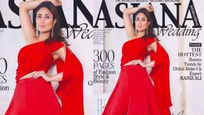 रेड ड्रेस में छा गई करीना, नए फोटोशूट में फैंस के दिलों पर चलाई छुरियां
