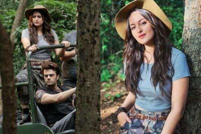Sonakshi Sinha was doing this work in the forest with Manish, Netizens says this