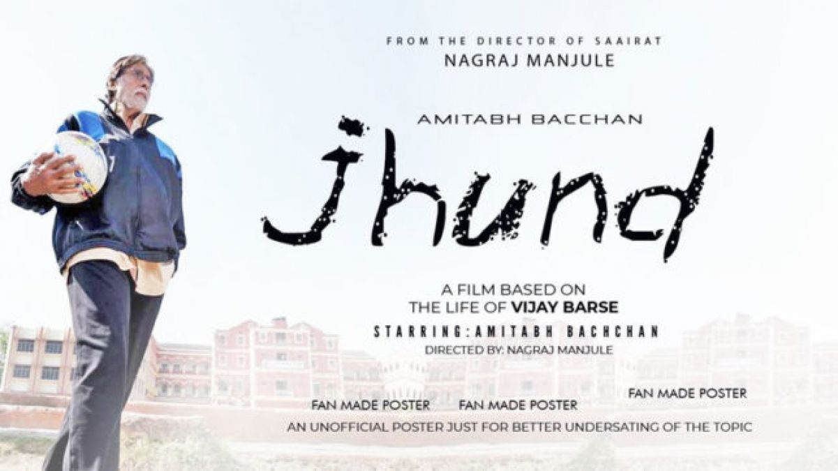 Big B completes the shoot of his upcoming movie Jhund