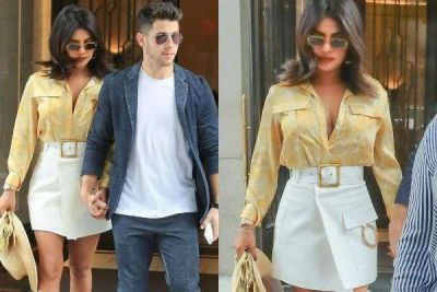 Priyanka's new look set fire again, savoury style with husband Nick going viral
