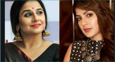 After Taapsee and Hina, Vidya Balan came in support of Rhea; said- 'That innocent ...'
