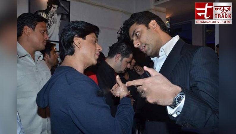 किंग खान धूम 4 के बनेंगे विलेन..? पूछने पर अभिषेक ने दिया ऐसा रिएक्शन..!!