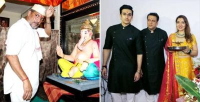 Govinda and Nana bring Bappa home, See pictures