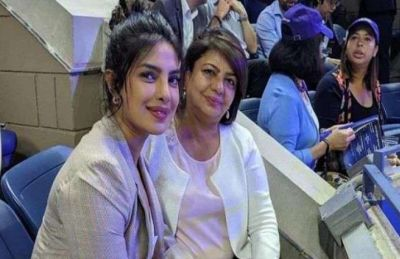 Priyanka reached the tennis stadium with mother, supported this player