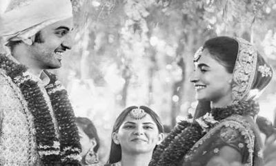 आलिया-रणबीर ने गुप-चुप कर ली शादी ! इन तस्वीरों ने उड़ाए फैंस के होश