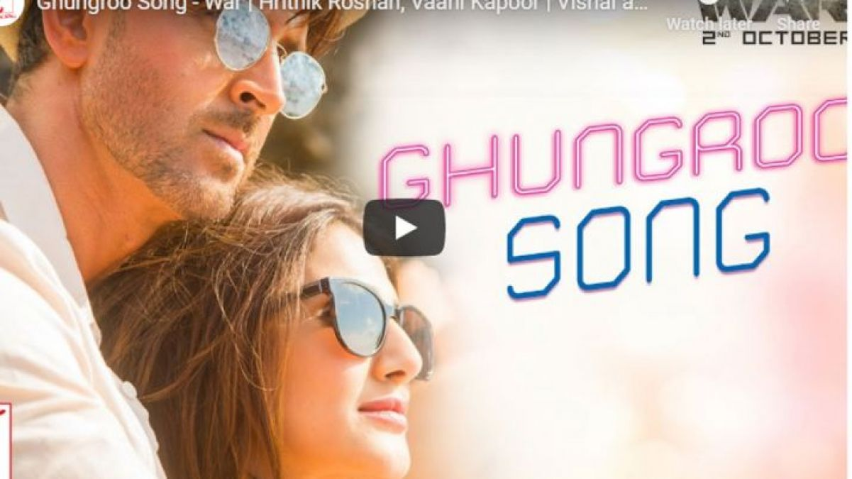 Video: Hrithik Roshan and Vaani Kapoor's sizzling chemistry in  'Ghungroo' is winning hearts