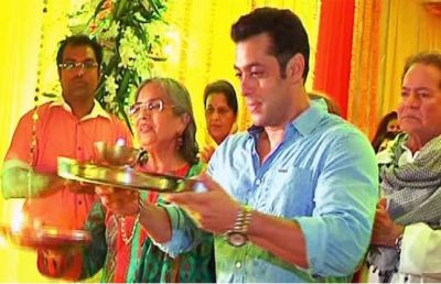 Salman has been welcoming Bappa at home for years, but does not know how to perform Aarti!