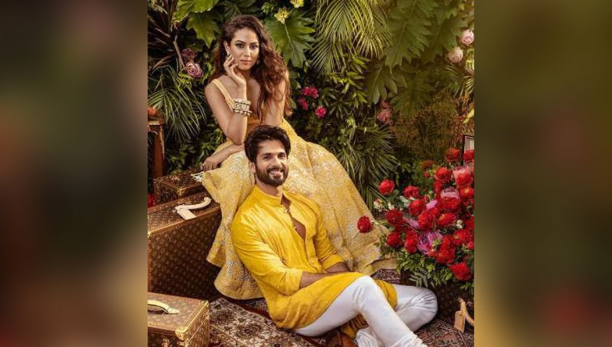 Mira Rajput was seen in a traditional look with husband Shahid, see her hot photoshoot!