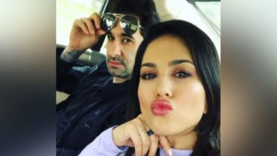 Cute photo of Sunny Leone with husband Daniel goes viral, check it out here