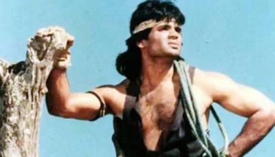 Sunil Shetty shares experience of his first strunt