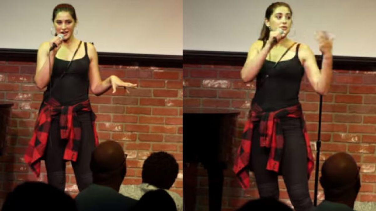 Nargis erased her biggest fear, shared video on social media