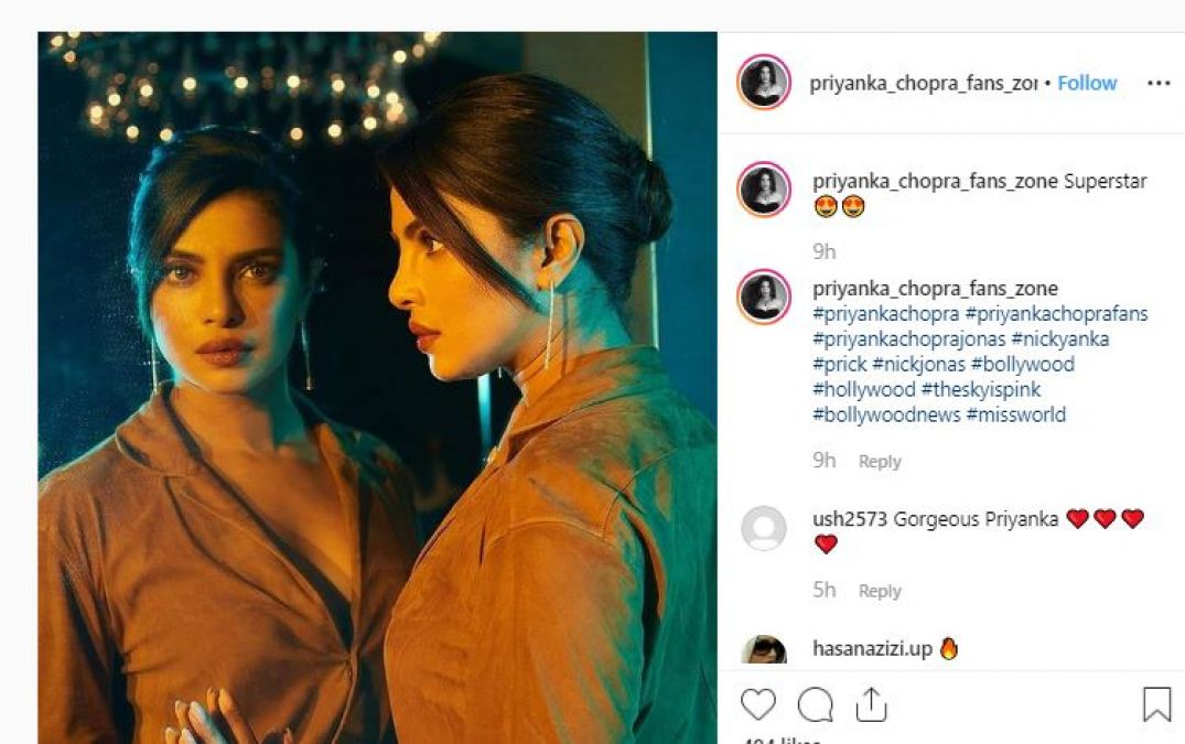 Priyanka's pictures from the premiere of her film 'The Sky is Pink' are going viral