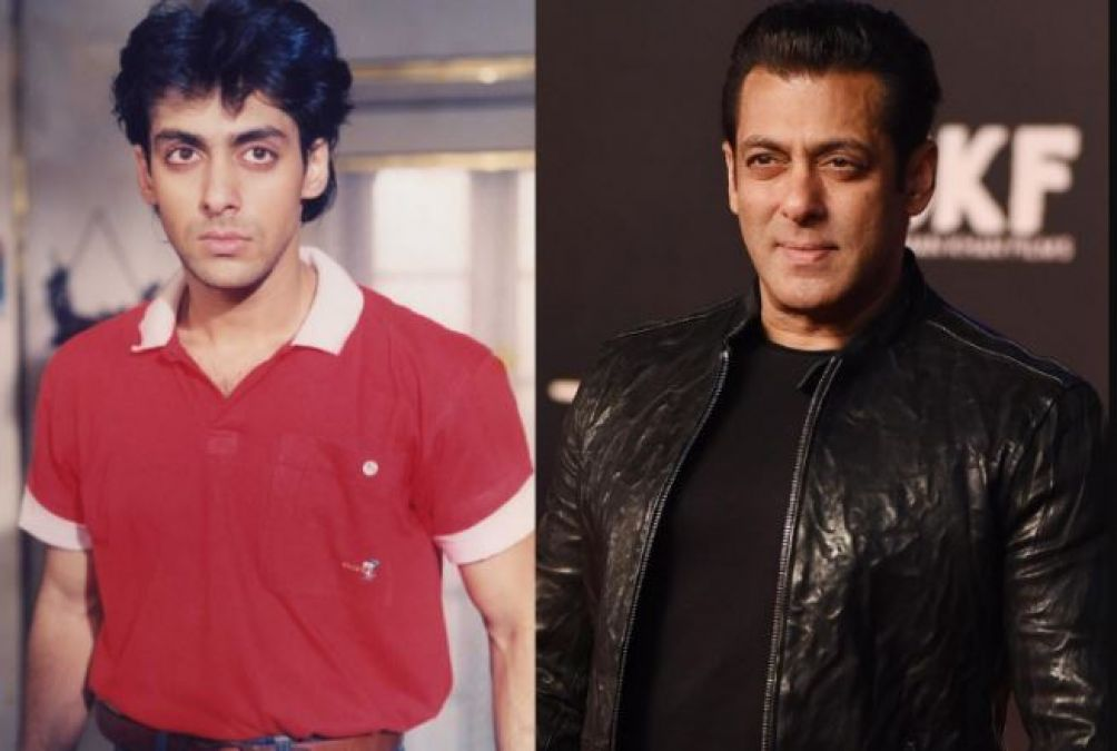 Salman said for the first time after completing 31 years in Bollywood,