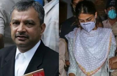 Lawyer Satish Maneshinde condemns Rhea Chakraborty's arrest in drug case