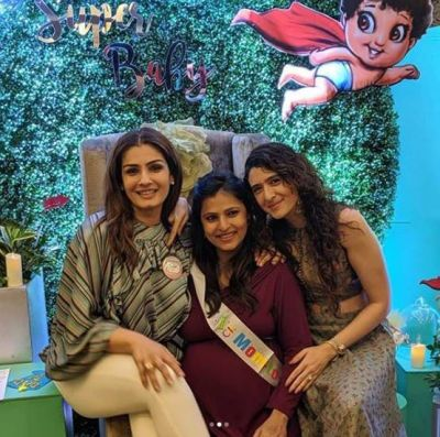 Raveena Tandon to become a grandmother soon, See pictures of baby shower