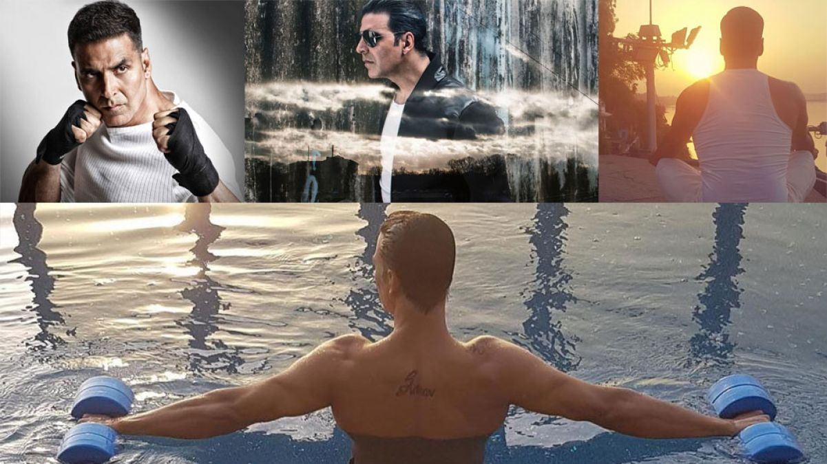 Know the secret behind Akshay's physique