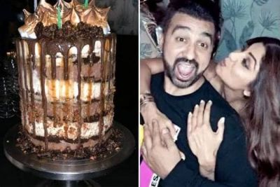 Shilpa celebrates husband Raj's birthday in this special style, see photo of celebration
