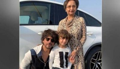 Gauri Khan shares an unseen picture of Shah Rukh Khan and AbRam with a mysterious woman