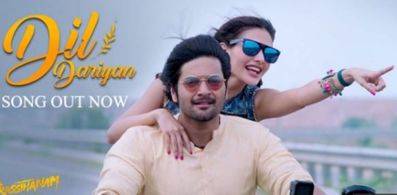 Dil Dariyan song: New song of Prasthanam released, seen Ali Amyra's love story