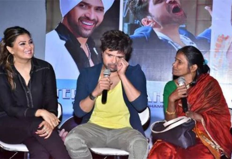 Himesh Reshammiya gets emotional on launch of  Ranu Mandol's 'Teri Meri Kahani' song