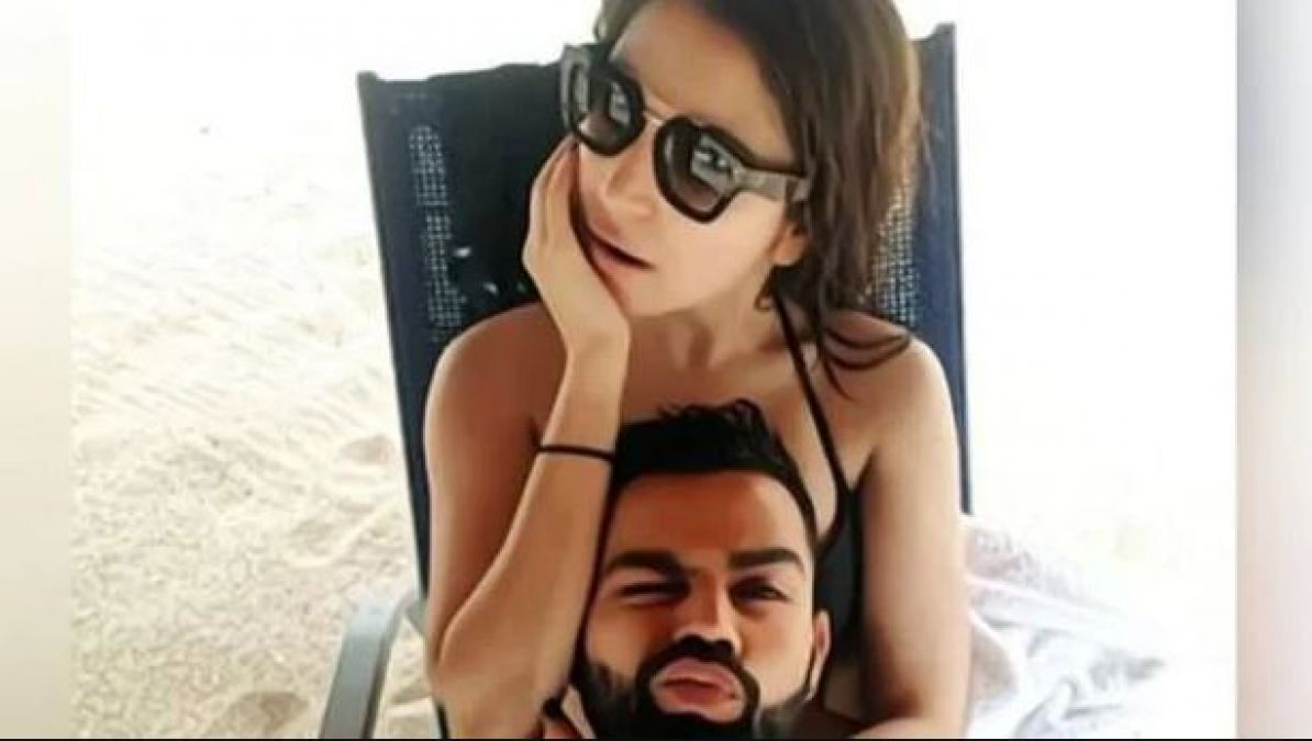 Virat Kohli shares new beach picture with Anushka Sharma
