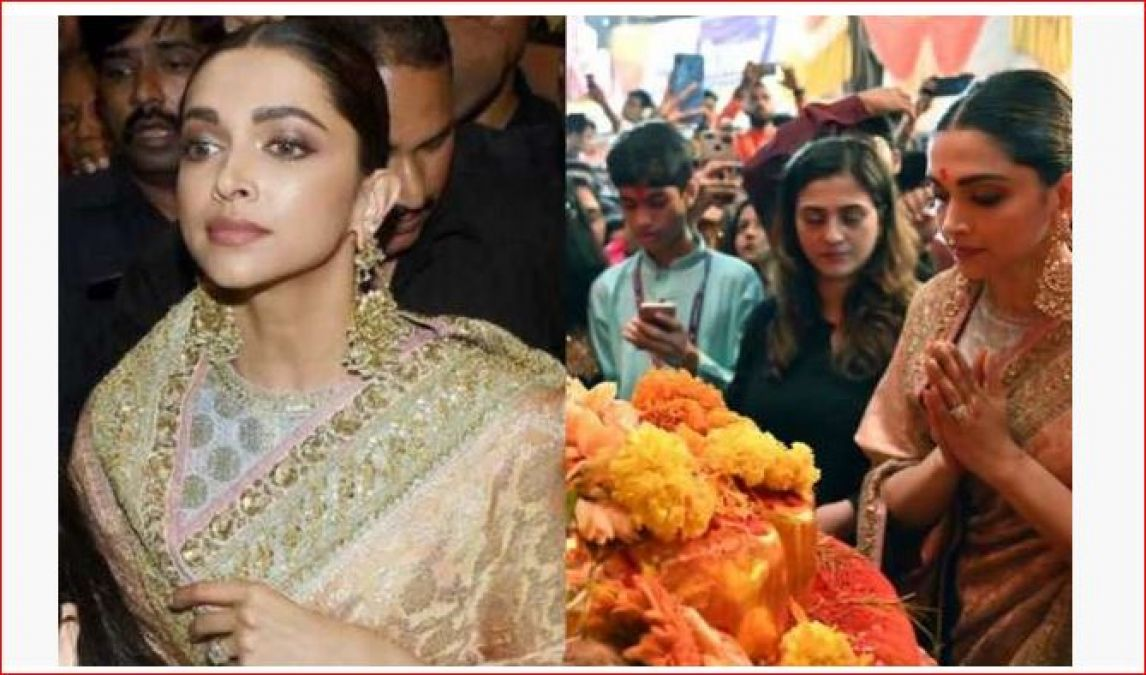 Deepika Ranveer Singh arrived as a bride to visit the King of Lal Bagh