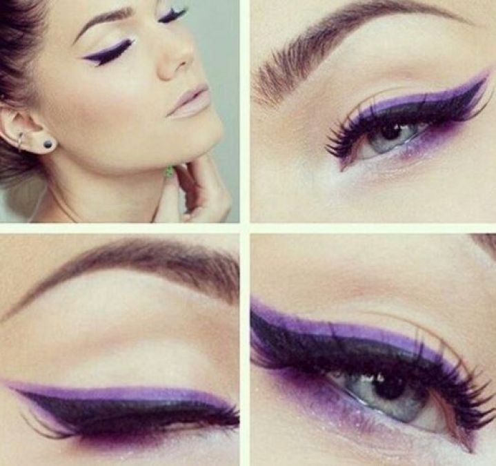 These Color eye liners are in trend, learn how to apply on eyes