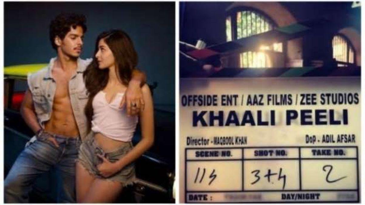 Ananya-Ishaan start shooting for 'Khaali Peeli', share photos!