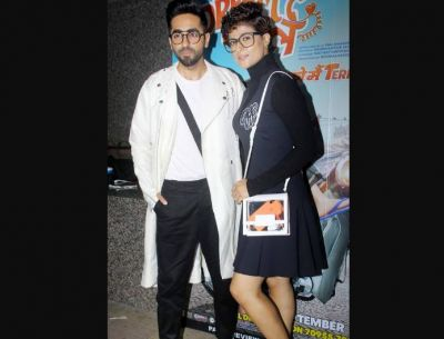 'Dream Girl' Screening: Ayushman arrives with family, these stars also appear