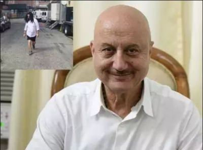 VIDEO: Anupam is not stopping from doing mischief even at the age of 64, see here!