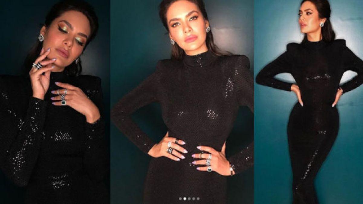Esha Gupta showcases her killer looks, watch her sexy video!