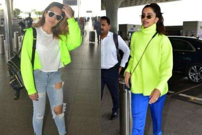 Govinda's Daughter was competing in looks with Deepika Padukone, See Airport Look