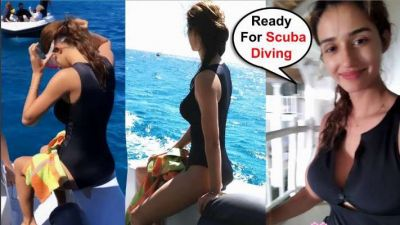 Disha refreshes old memories, shares photos while she was trained for scuba diving