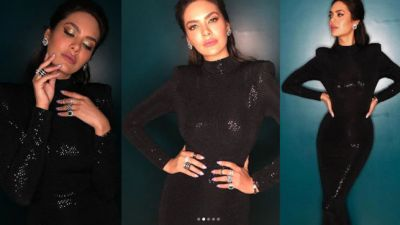 Esha Gupta showcases her killer looks, watch her sexy video!