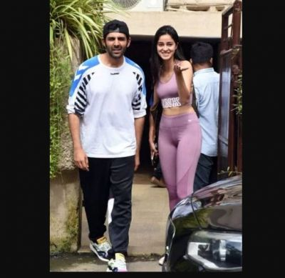 Kartik And Ananya Spotted Together After Dance Rehearsals