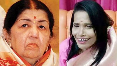 Finally Ranu Mondal reacts to Lata Mangeshkar's dig at her