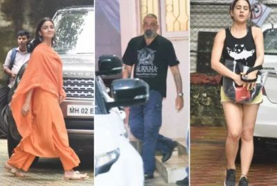 These stars, including Sanjay-Sara-Alia, captured in-camera, photos surfaced