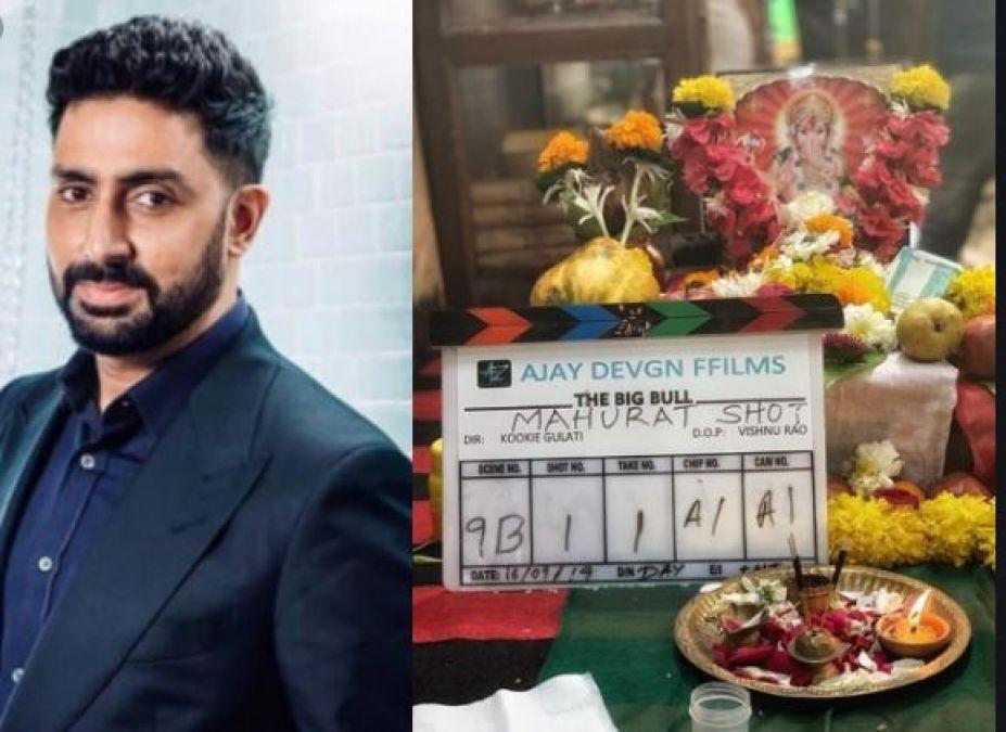 Abhishek Bachchan starts shooting for his next film, Shared photo