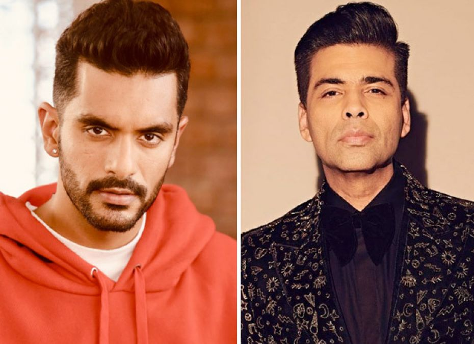 Karan gave his expensive clothes to Angad Bedi for 'The Zoya Factor'...