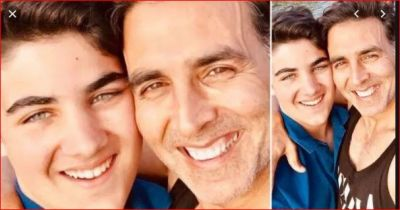 Akshay Kumar congratulates his son on his birthday with this lovely note