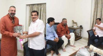 'Sanju Baba' met Nitin Gadkari amidst elections