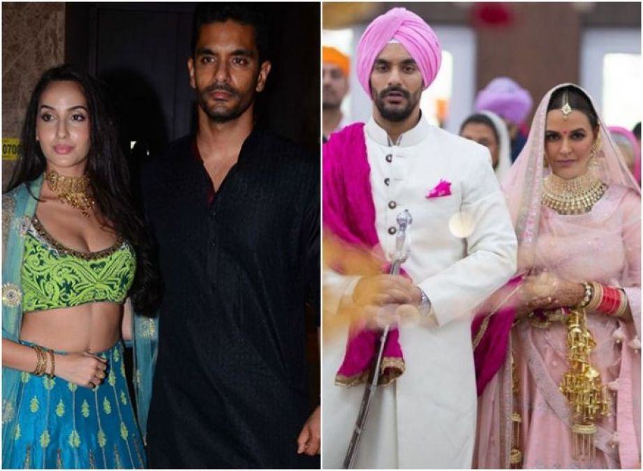Angad Bedi spoke about his ex Nora Fatehi for the first time after becoming a father