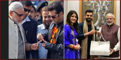 These Bollywood Stars are big fans of PM Modi, Pictures are proof