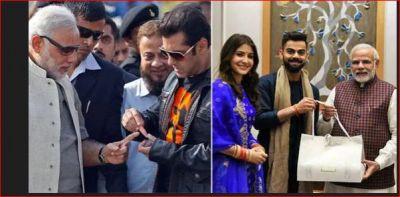 सलमान से अमिताभ तक बॉलीवुड सितारें भी हैं PM मोदी के फैन,  तस्वीरें दे रहीं सबूत