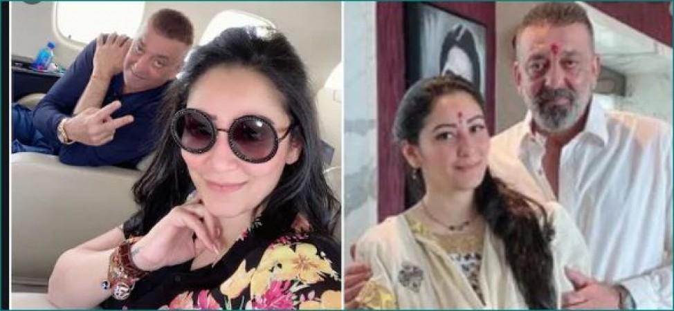 Sanjay Dutt, wife finally share photo of their children ...