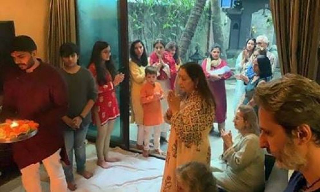 Raveena Tandon became Naani at the age of 44, welcomed the little guest at home