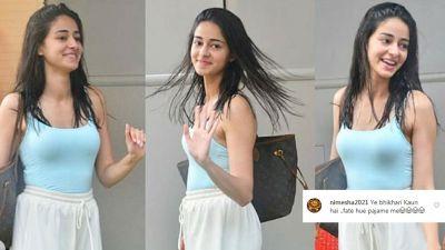 एक फिल्म के बाद ही ऐसी हो गई चंकी पांडेय की बेटी की हालत ! यूजर्स बोले- भिखारन