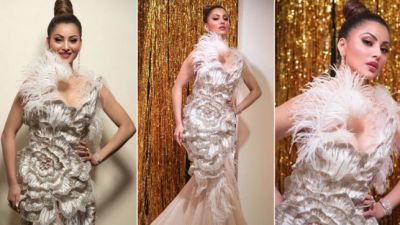 IIFA 2019: Urvashi's look revealed from award show, See pictures