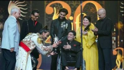 IIFA salutes Bollywood's Surma Bhopali, this veteran arrived on wheelchair to receive award
